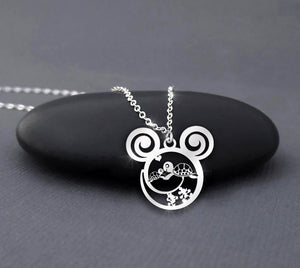 Mother Turtle Love Her Child - Mom Turtle Calling Necklace