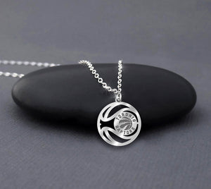 NBA Toronto Raptors Sterling Silver Necklace