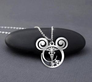 Nurse love Disney - Calling Necklace