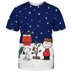 Peanut and snoopy christmas