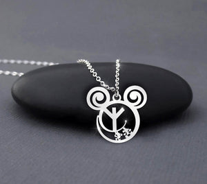 Rune amulet protection - Calling necklace