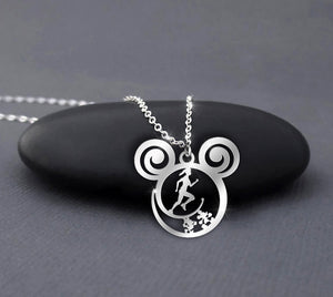 Runner - Run and run always - Disney Calling Necklace