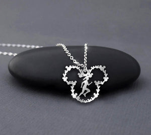 Runner - Run and run always - Mickey Mouse Necklace
