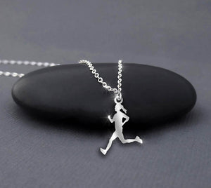 Running Female Necklace