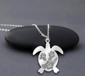 Save the Turtle 925 Sterling Silver Necklace