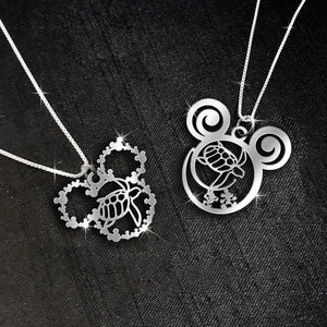$69 For 2 Stunning Necklaces: Save the Turtle Calling Necklace and Save the Turtle MK necklace