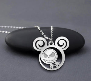 The Nightmare Before Christmas Jack Is Calling Necklace