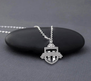 Toronto FC Sterling Silver Necklace