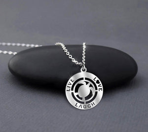 Turtle Lover - Serling silver necklace