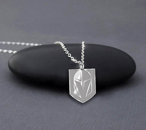 [] Vegas Golden Knights Sterling Silver Necklace