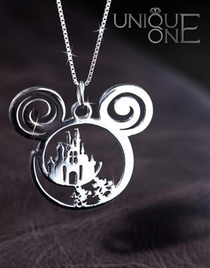 Disney Is Calling Handmade Necklace