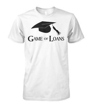 Graduation cap game of loans - Graduation cap game of loans T-Shirt