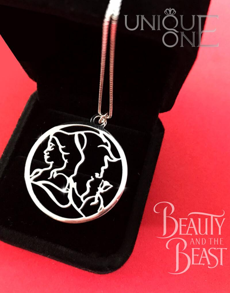 2967a37c47 Handmade Beauty And The Beast Necklace Sterling Silver - Shop Unique One