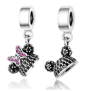 Cute Cartoon Fit Pandora Charm Original Bead Jewelry 925 Sterling Silver