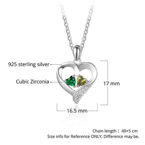 (Please note name) Personalized 925 Sterling Silver name Necklace Engraved Heart