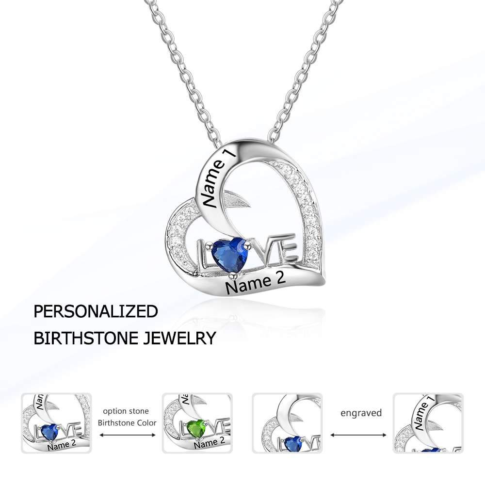 Please note name personalized name 925 sterling silver love please note name personalized name 925 sterling silver love necklace aloadofball Images