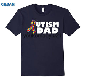 GILDAN Autism Dad Autism Awareness Tee Shirt