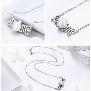 100% 925 Sterling Silver Mom Gift for Mother Letter