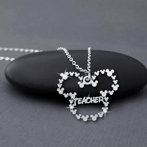 Teacher Handmade Sterling Silver Necklace
