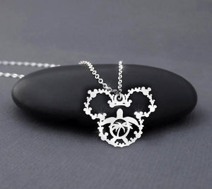 Hawaii Turtle Mickey Mouse Necklace