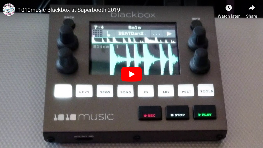 1010music Blackbox at Superbooth 2019