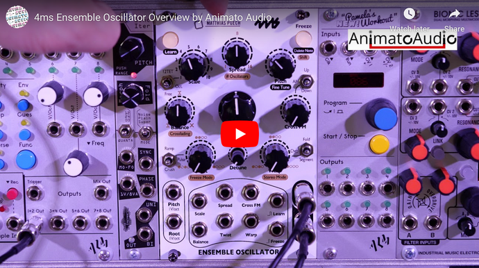 4ms Ensemble Oscillator Overview by Animato Audio