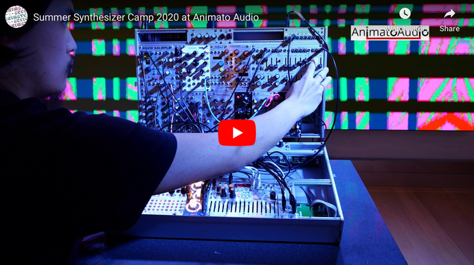 Summer Synthesizer Camp 2020 at Animato Audio
