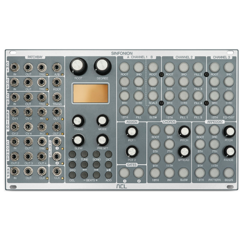 (Pre-order) Sinfonion quantizer, arpeggiator, chord generator and sequencer