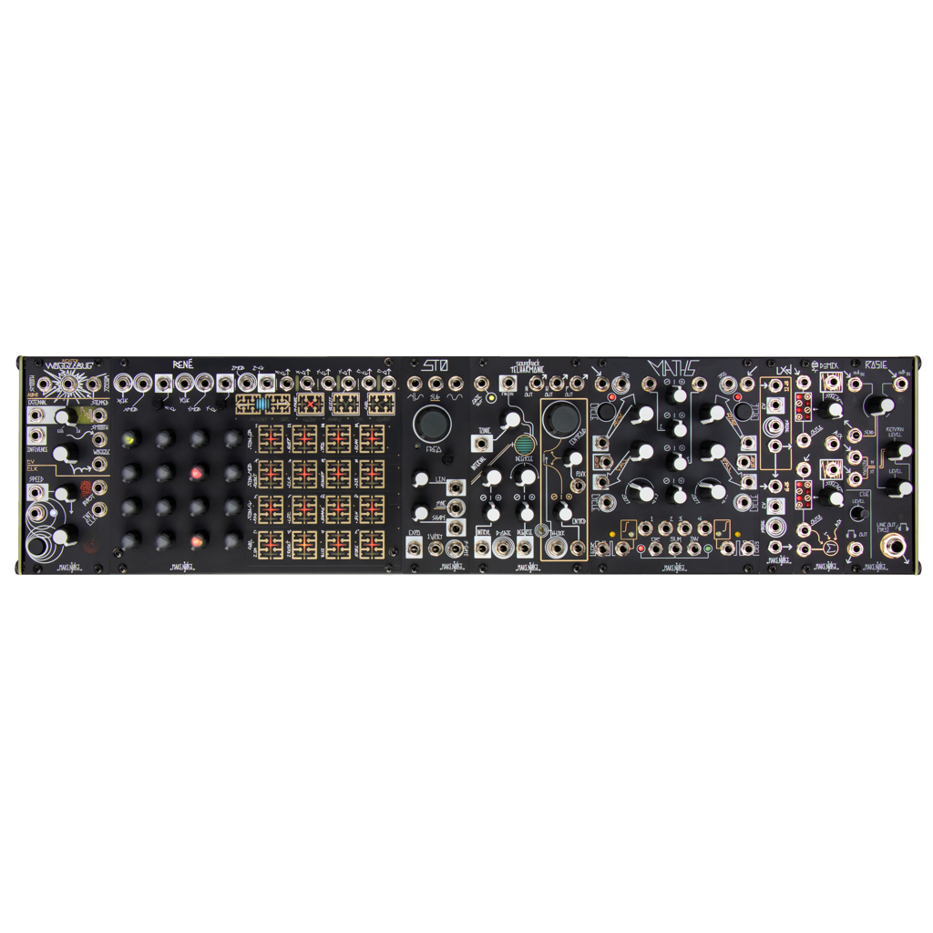 Black & Gold System Cartesian Modular Synthesizer