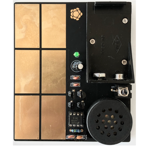 Crackle Box / Noise Touch Synth Instrument