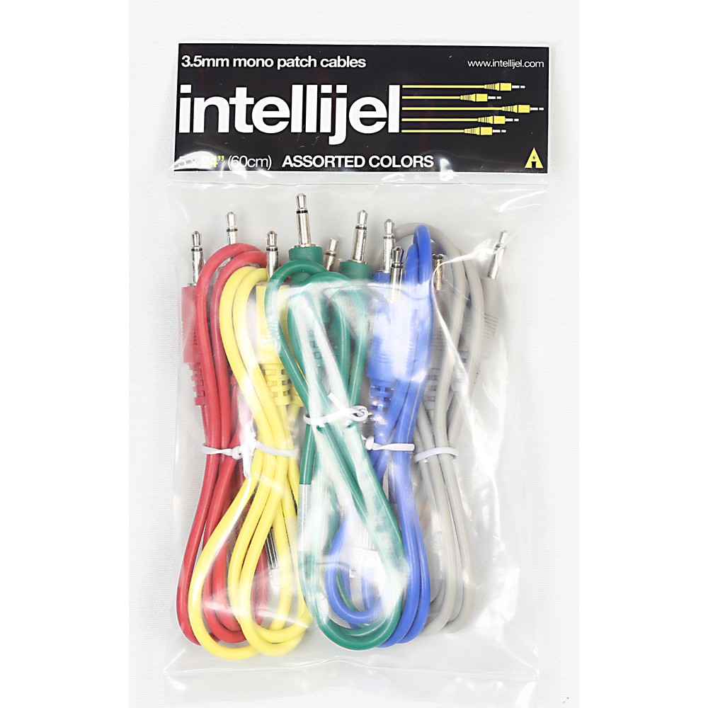 Patch Cables - 5 pak assorted colors 24