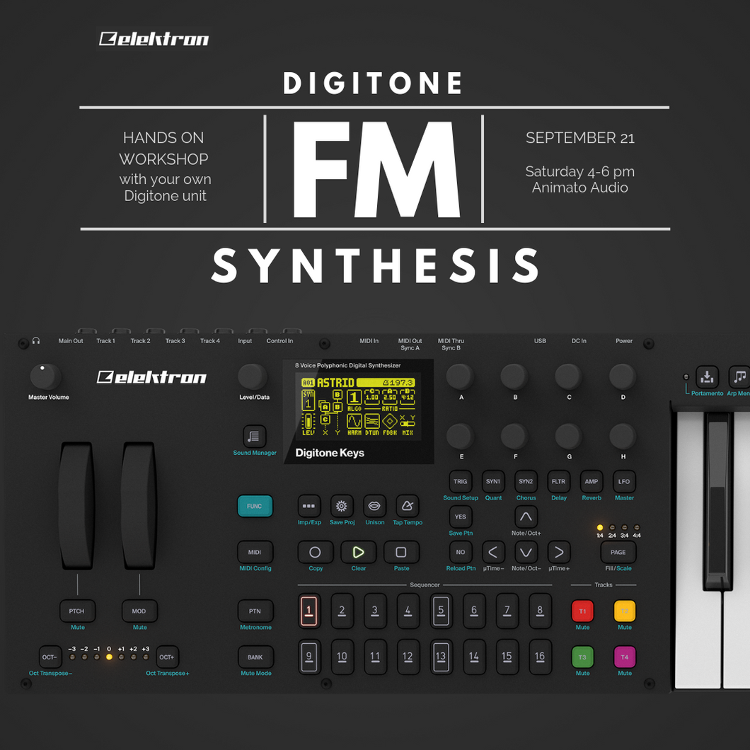 Digitone FM Synthesis Workshop