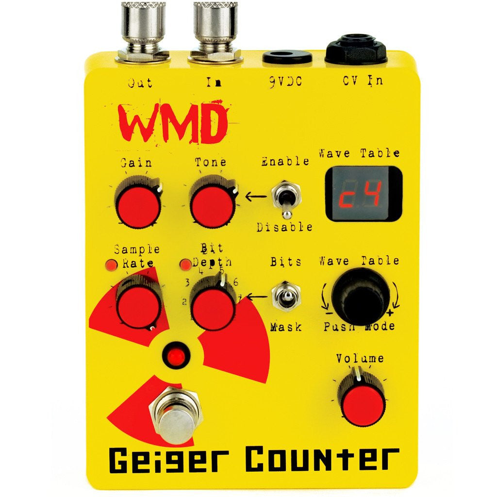 Geiger Counter Pedal