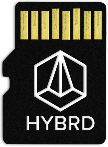 GLITCHMACHINES HYBRD Card