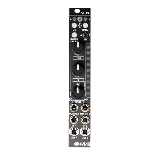 SCLPL Stereo 5-Band Digital EQ / Morphing Filter