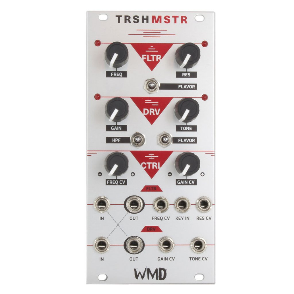TRSHMSTR - Wah/Distortion in Eurorack
