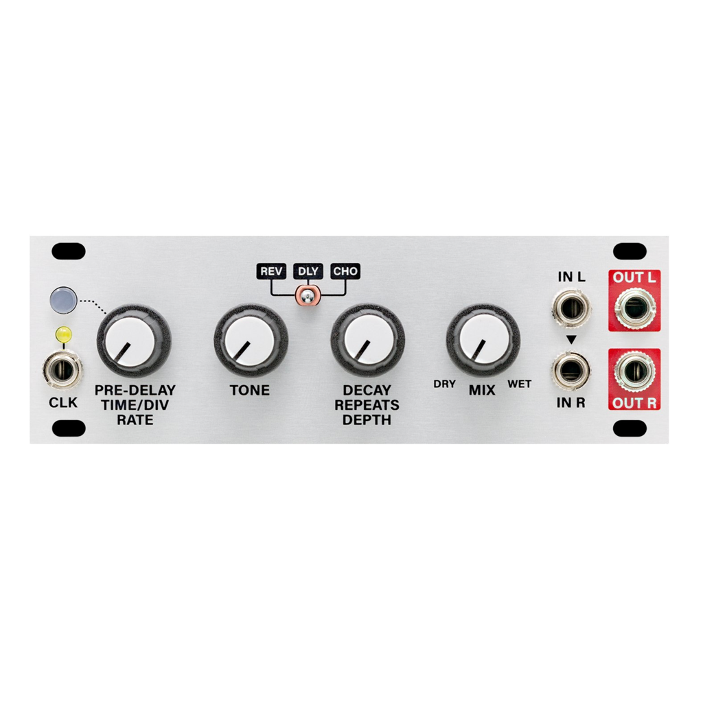 Multi-FX 1U Clockable Delay, Reverb and Chorus Effect