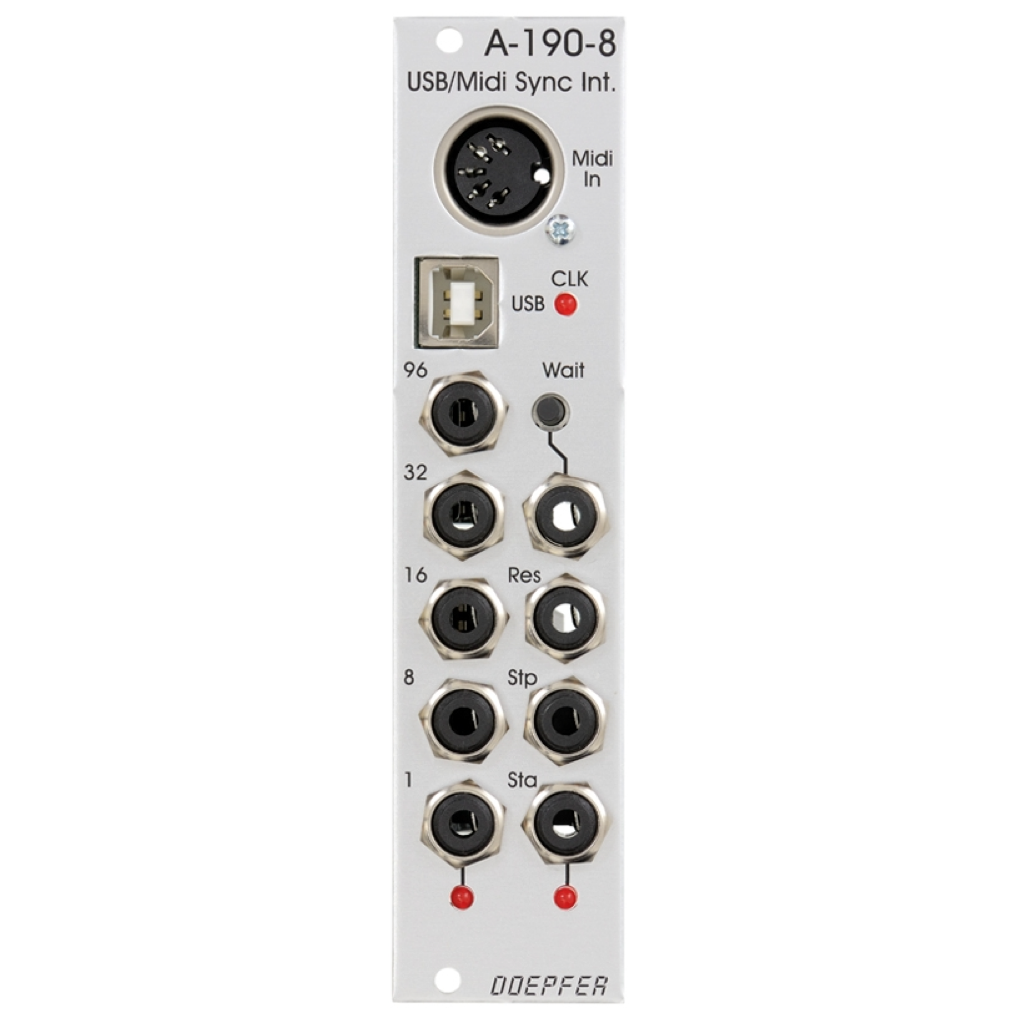 A-190-8 USB / MIDI-to-Sync Interface