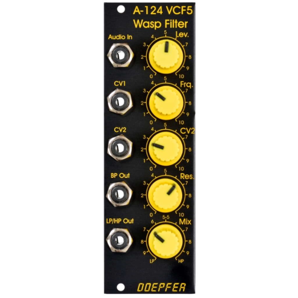 A-124 Wasp Filter Special Edition Black/Yellow
