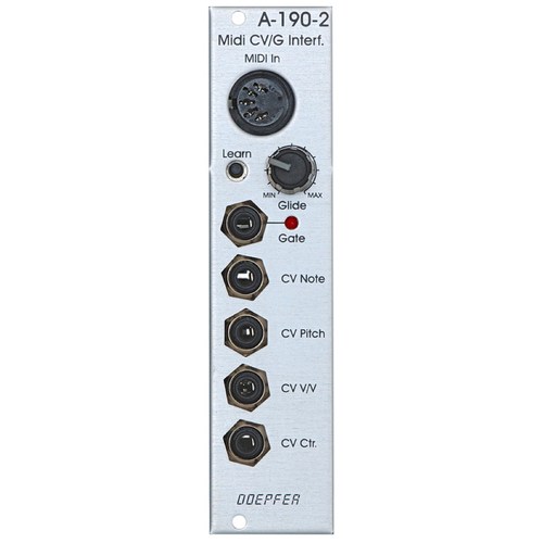 A-190-2 Low Cost MIDI-to-CV / Gate Interface