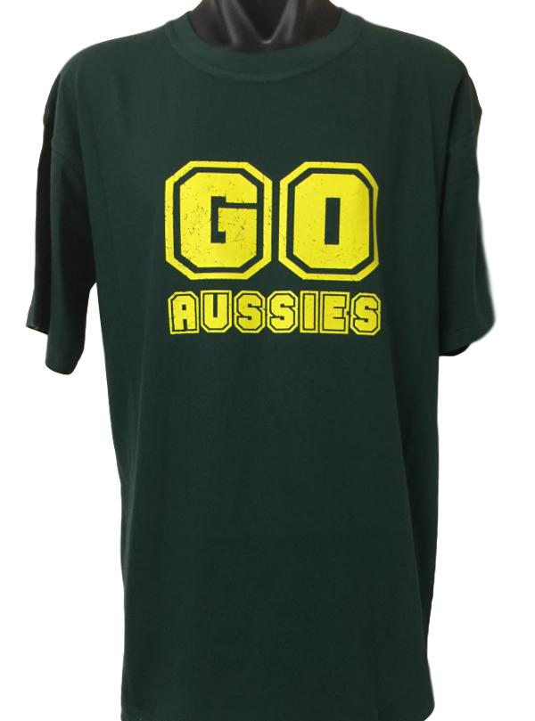[Blog Post] Australian Team Supporter T-Shirts in Green with Yellow/Gold Print Released