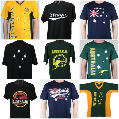 Aussie T-Shirts to wear to the Commonwealth Games on the Gold Coast