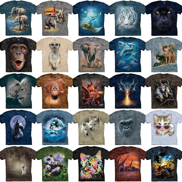 The Mountain 2018 T-Shirt Collection