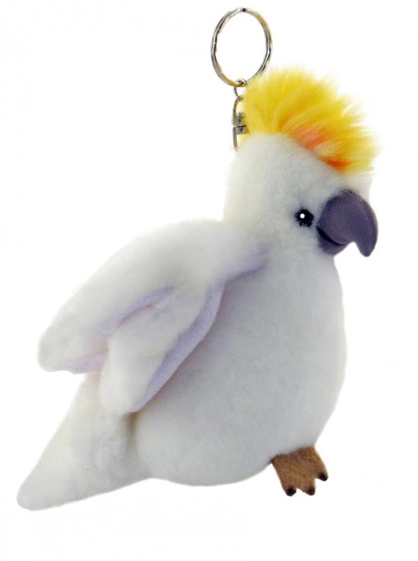 Cockatoo Keyring Plush Toy (11cm)