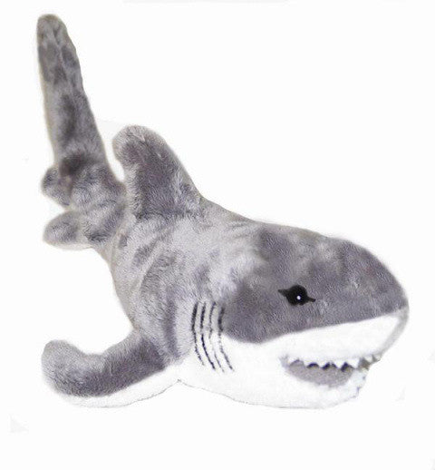 Great White Shark Soft Plush Toy (Pacific 35cm)
