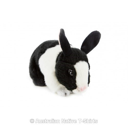 B&W Bunny Rabbit Soft Plush Toy (25cm)