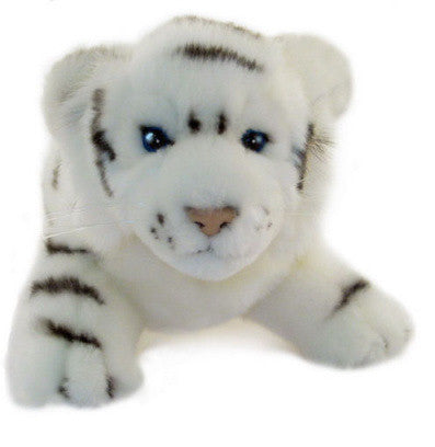 White Tiger Cub Soft Plush Toy (26cm)