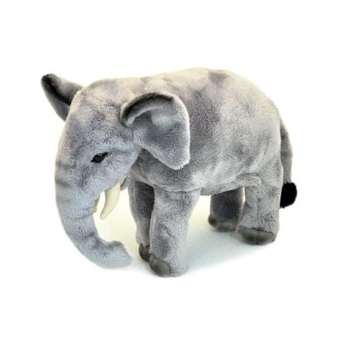 Standing Elephant Soft Plush Toy (Small 20cm)