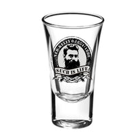 Ned Kelly Portrait Souvenir Shot Glass