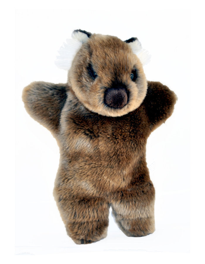 Wombat Plush Toy Hand Puppet (Small)